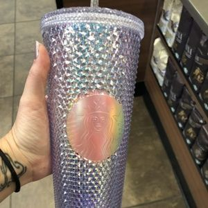 Limited Edition Iridescent Starbucks Tumbler